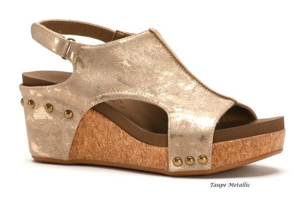 Carley Wedge Sandals
