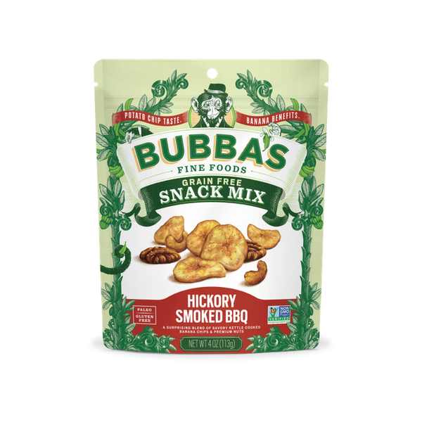 Bubba's Hickory Smoked BBQ Grain Free Snack Mix