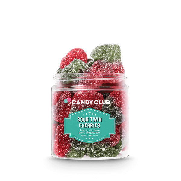 Candy Club Sour Twin Cherries