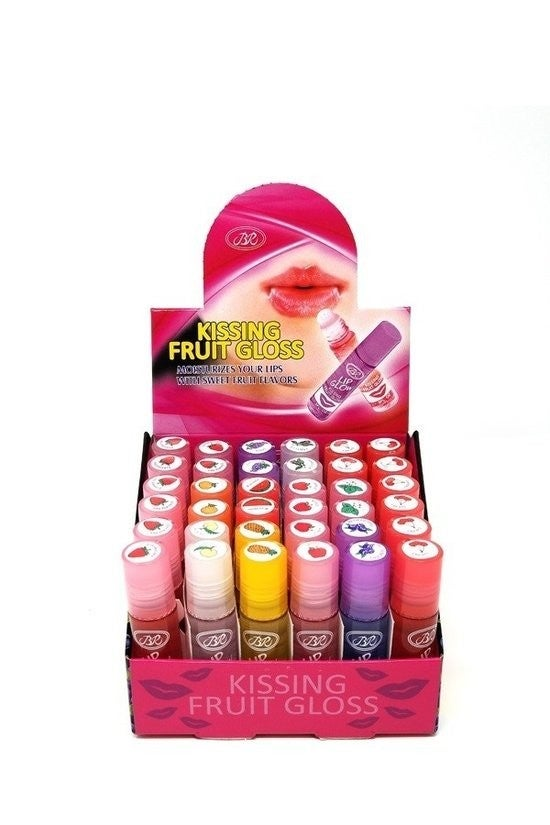 Lip Glow ~  Kissing Fruit Flavored Lip Gloss ~ Available in 11 Flavors