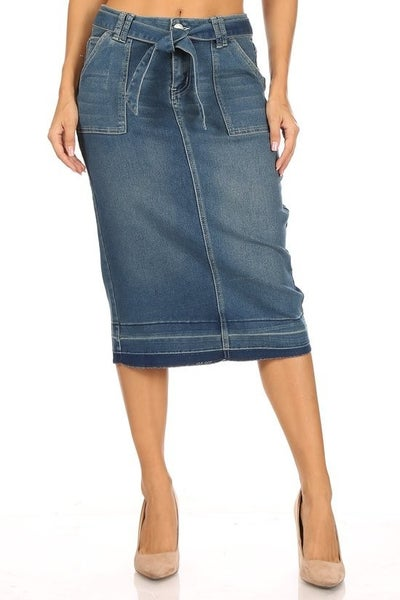 Denim Skirt ~ Audrey