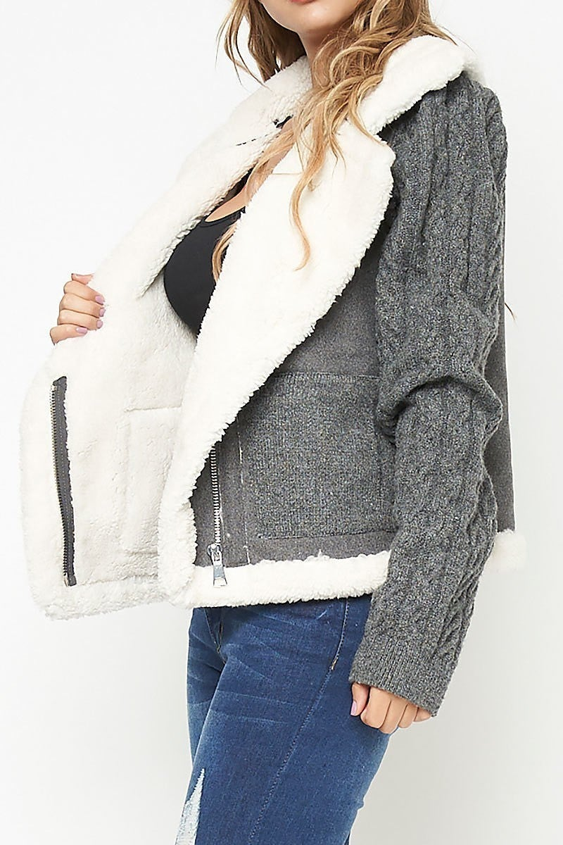 Sweater Jacket ~ Shelby