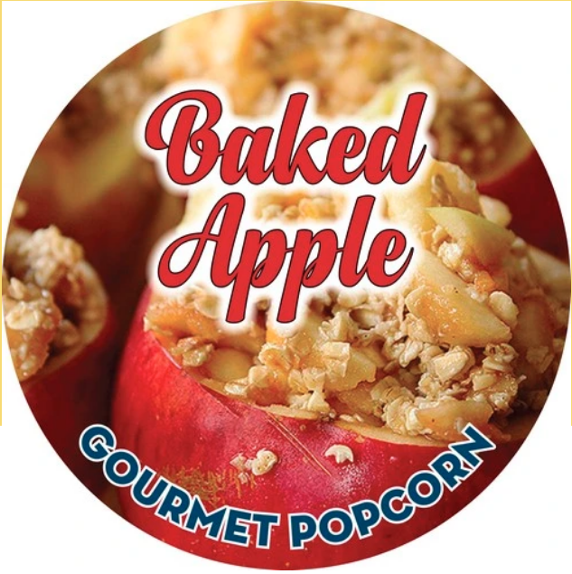 Baked Apple Gourmet Popcorn