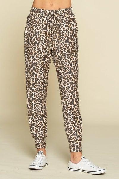 Animal Print Loungewear Joggers