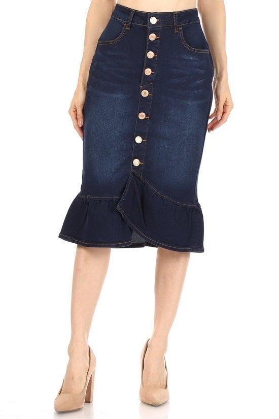 Denim Skirt ~ Demi