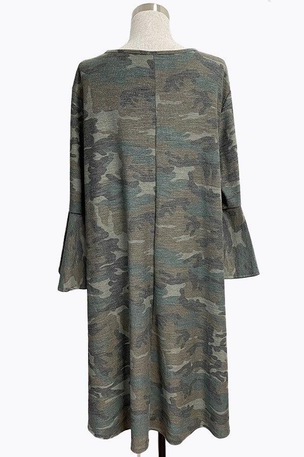 Dress ~ KellyAnne ~ Dusty Camo and Floral Camo