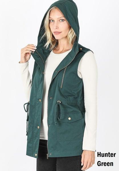 Hooded Vest ~ Vera