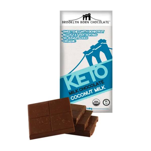 Coconut Milk Keto Milk Chocolate Bar