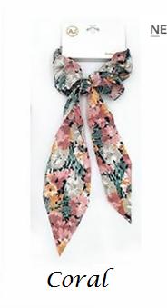 Floral Print Hair Tie