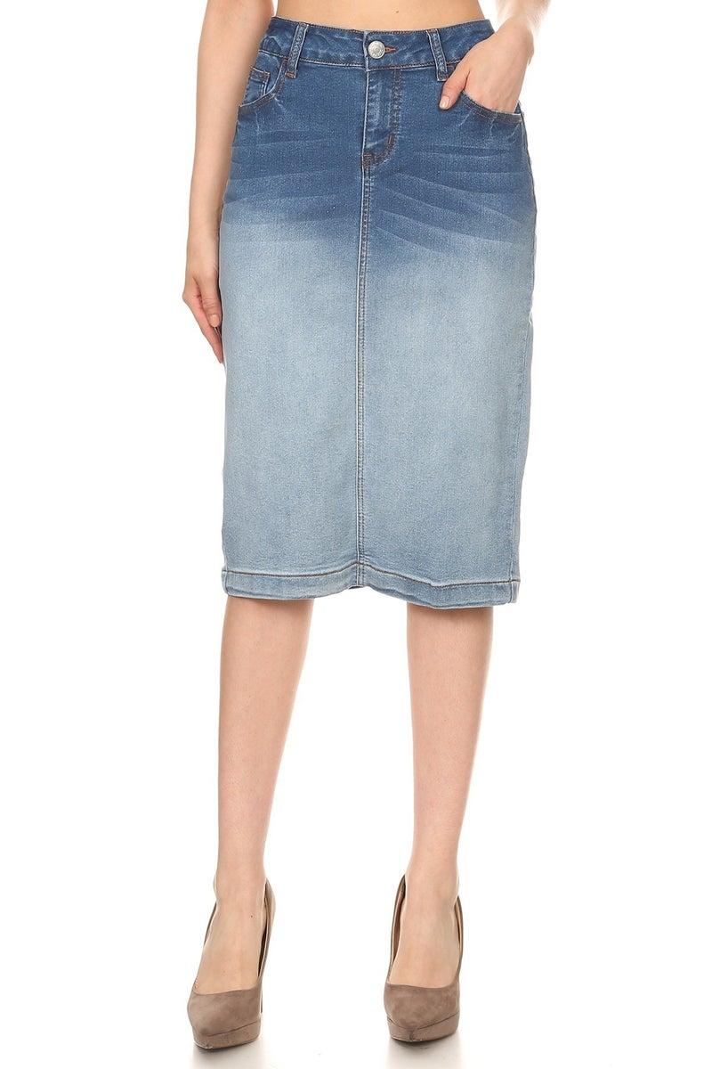 Denim Skirt ~ Skylar