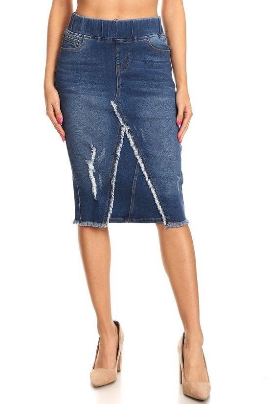 Denim Skirt ~ Danielle