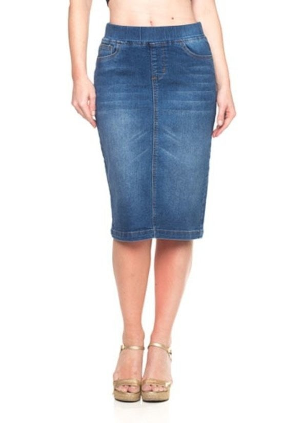 Denim Skirt ~ Ashton