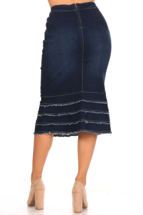 Denim Skirt ~ Lydia