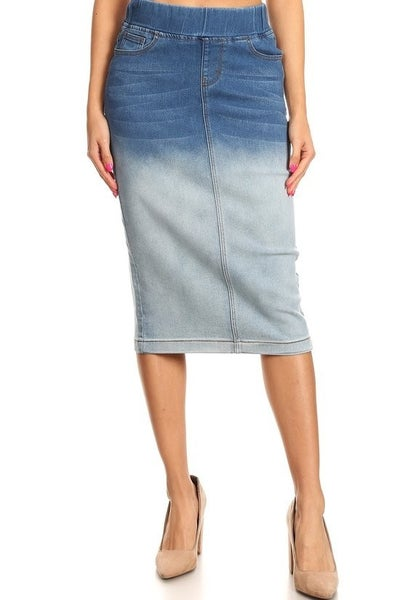 Denim Skirt ~ Rita