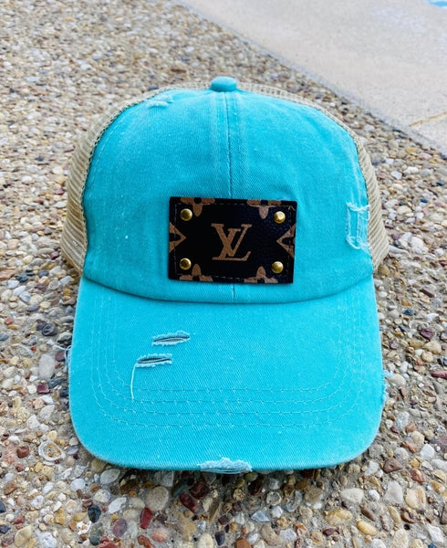Upcycled LV Hats