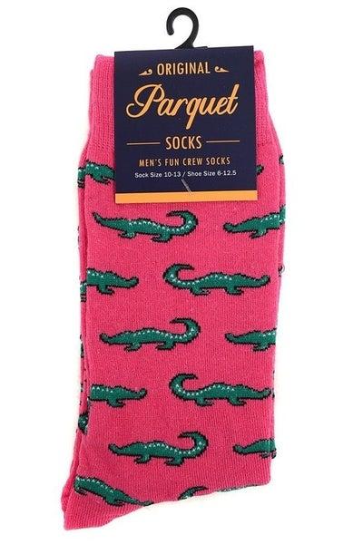 Men's Novelty Socks ~ Al the Alligator