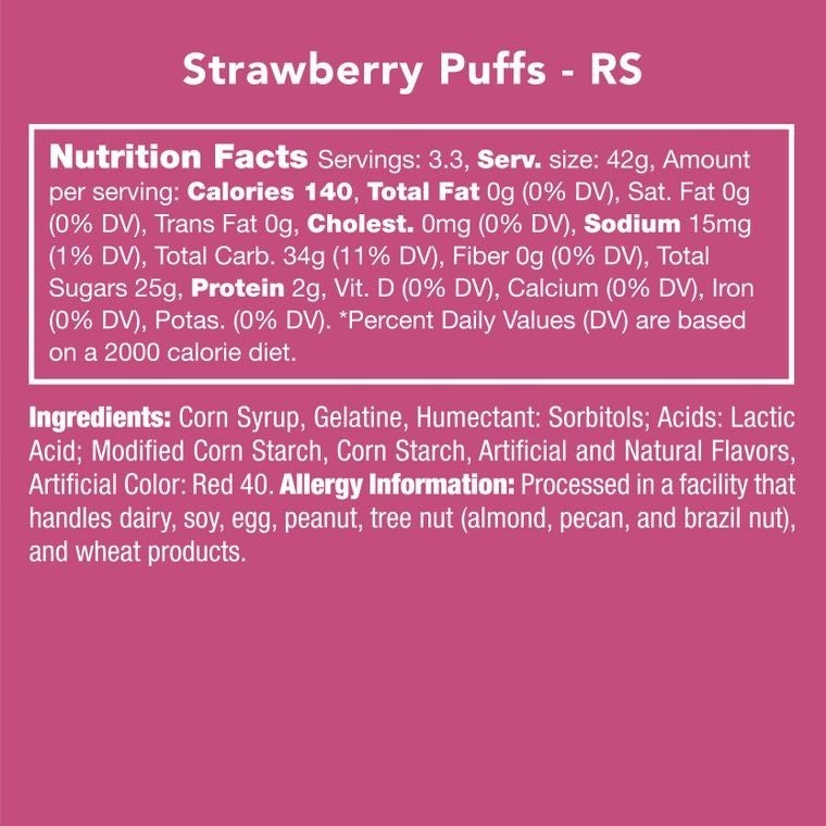 Candy Club Candy Puffs ~ Multiple Flavors