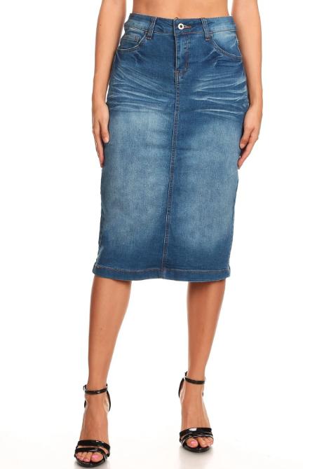 Denim Skirt ~ Heidi