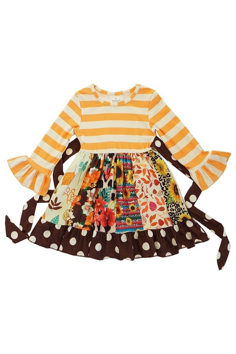 Twirl Dress ~ Miss Sunflower