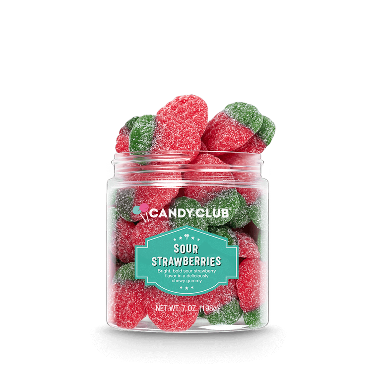 Candy Club Sour Strawberries