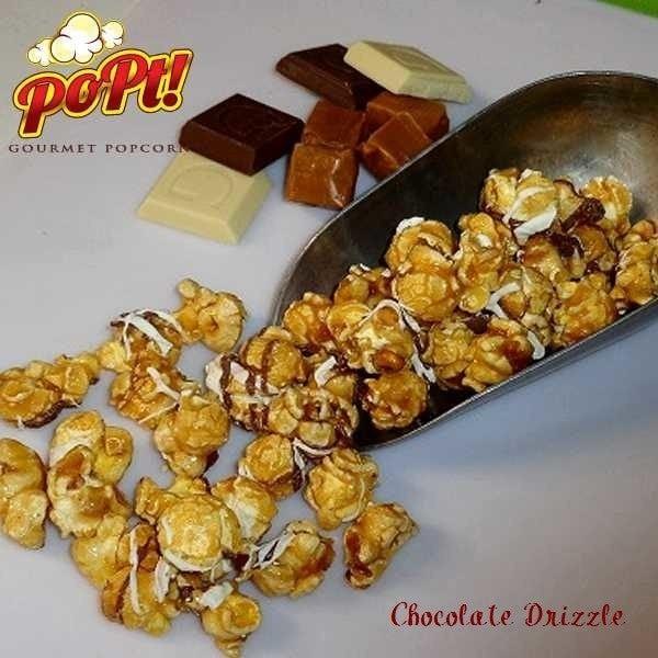 PoPt! Gourmet Chocolate Drizzle Popcorn