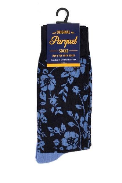 Men's Novelty Socks ~ Mr. Flower Power
