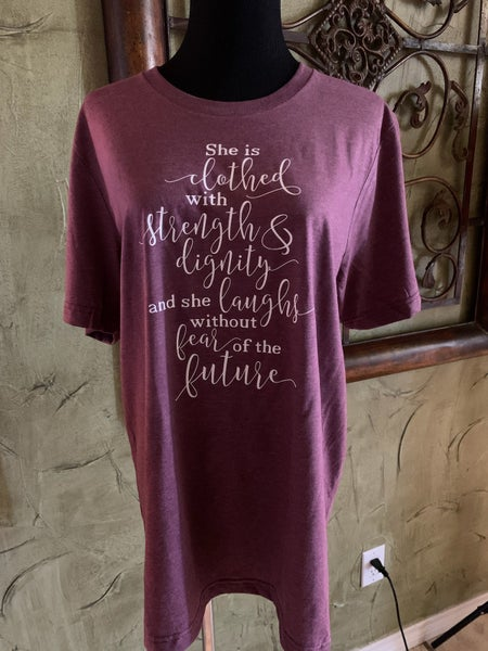 Graphic Tee ~ Proverbs 31