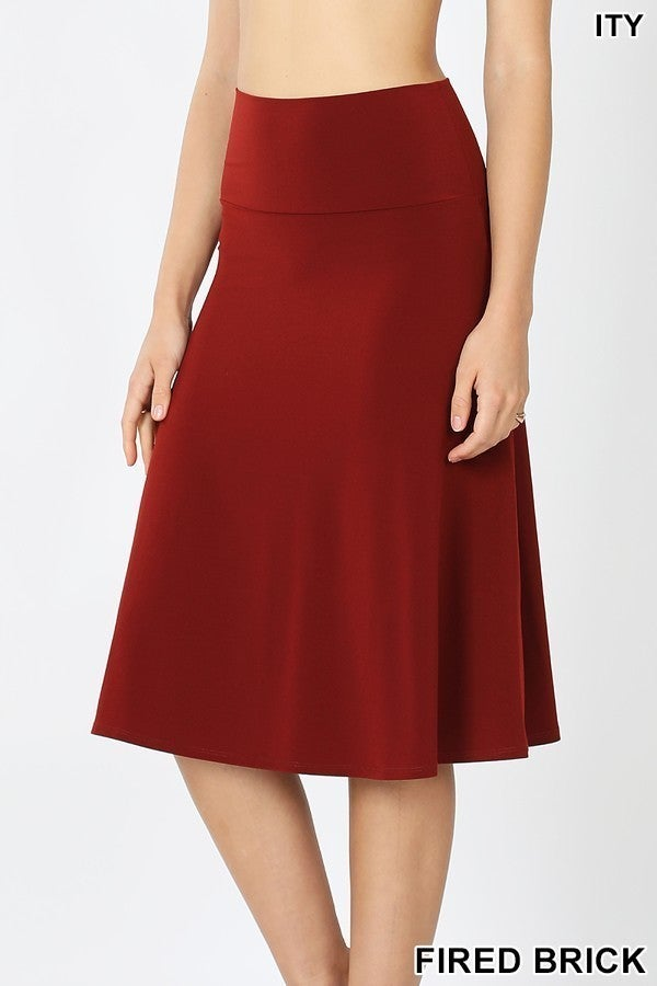 Skirt ~ Nadia ~ Available in Multiple Colors