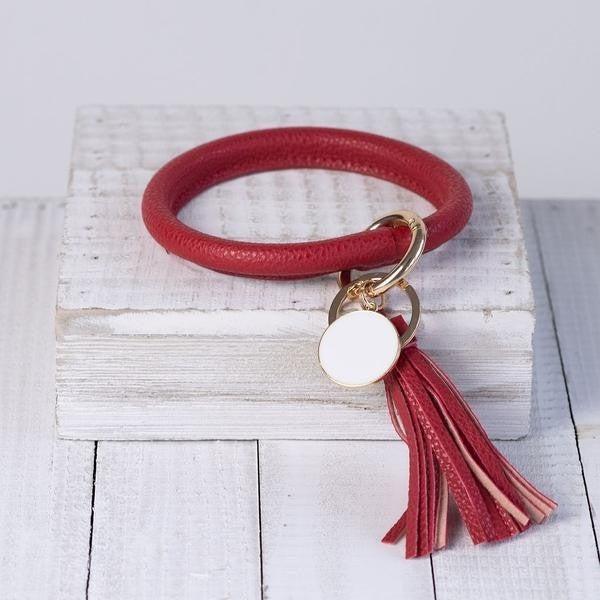 Red Wristlet