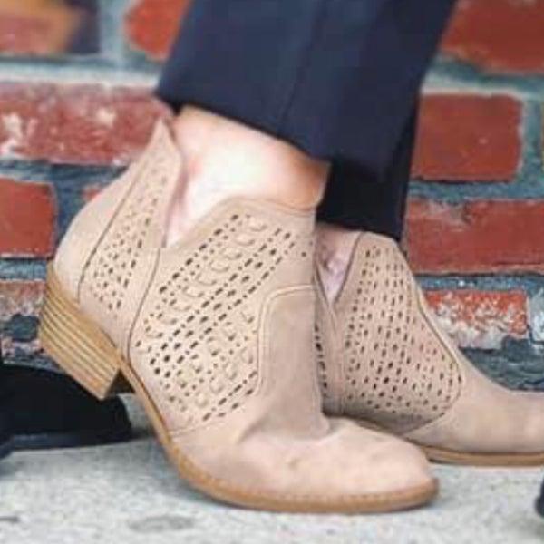 Khaki Ankle Boot