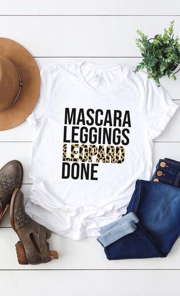 Mascara Leopard Leggings Tee