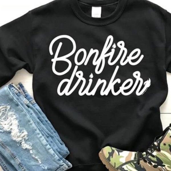 Bonfire Drinker Sweatshirt