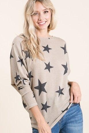 Star Print Tunic