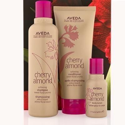 Aveda Cherry Almond Hair and Body Trio