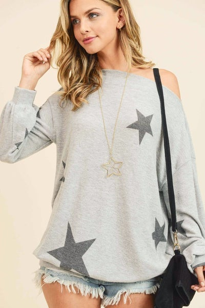 Star Cashmere Top