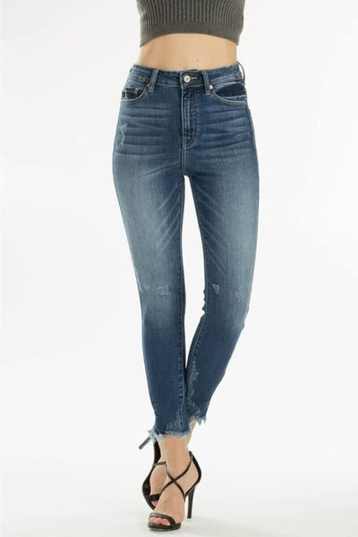 KanCan High Rise Ankle Skinny