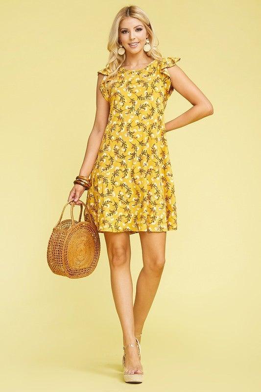 Ruffled Summer Dress