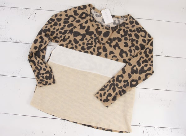 Leopard Chic Top