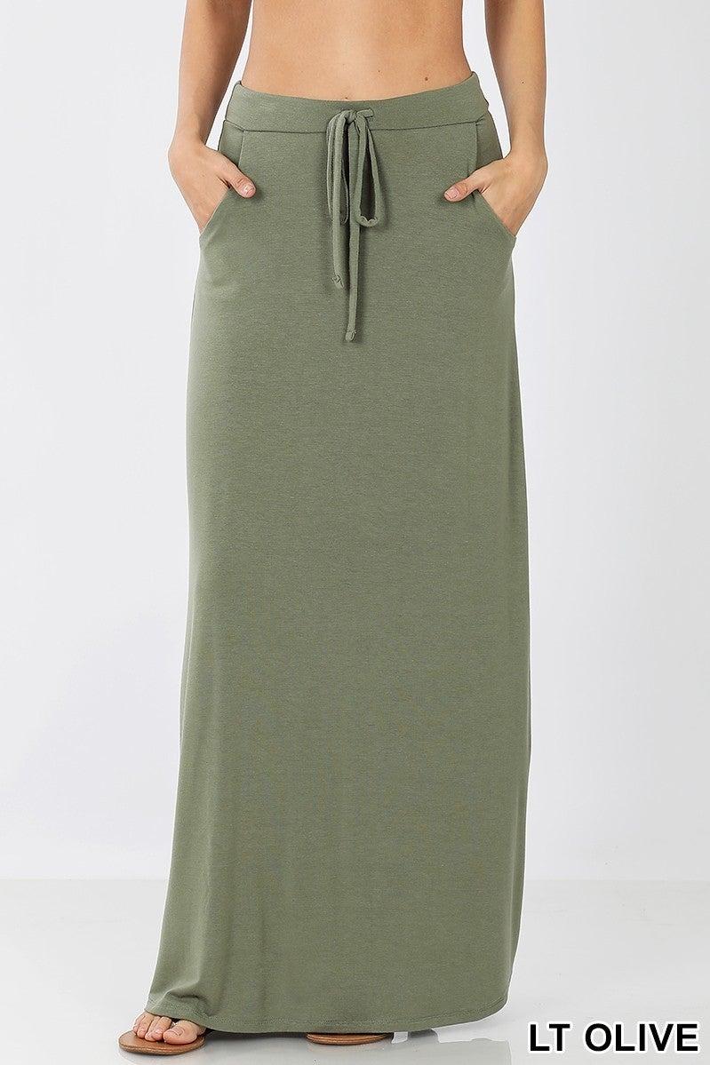 Jersey Maxi Skirt *Final Sale*