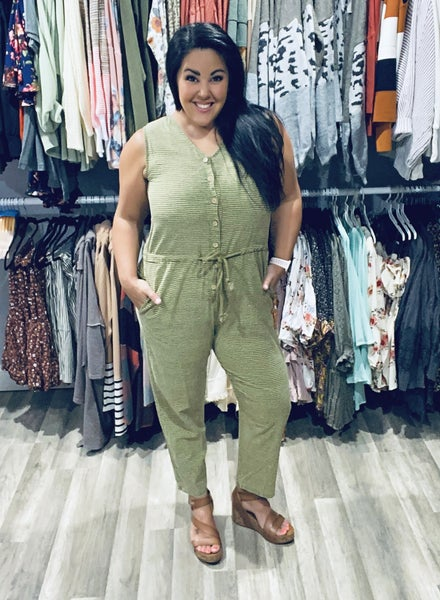 Warmer Days Jumpsuit *Final Sale*
