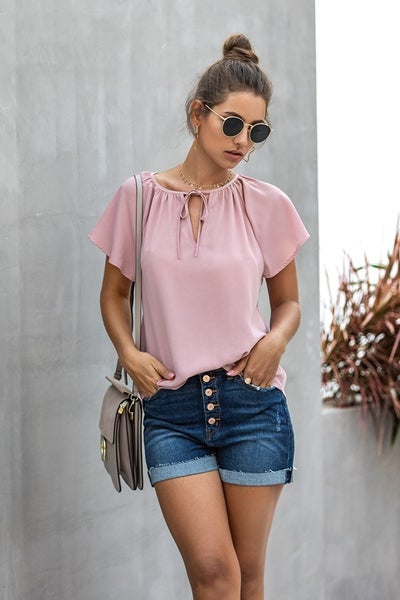 Pink Me I'm Dreaming Blouse