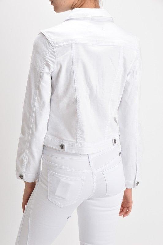 White KanCan Jean Jacket *Final Sale*