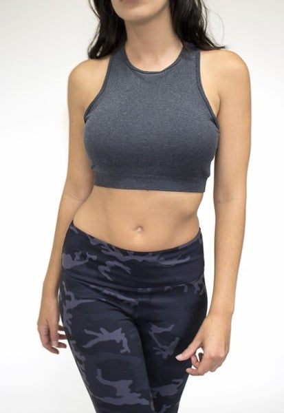 High Neck Bralette Sports Bra