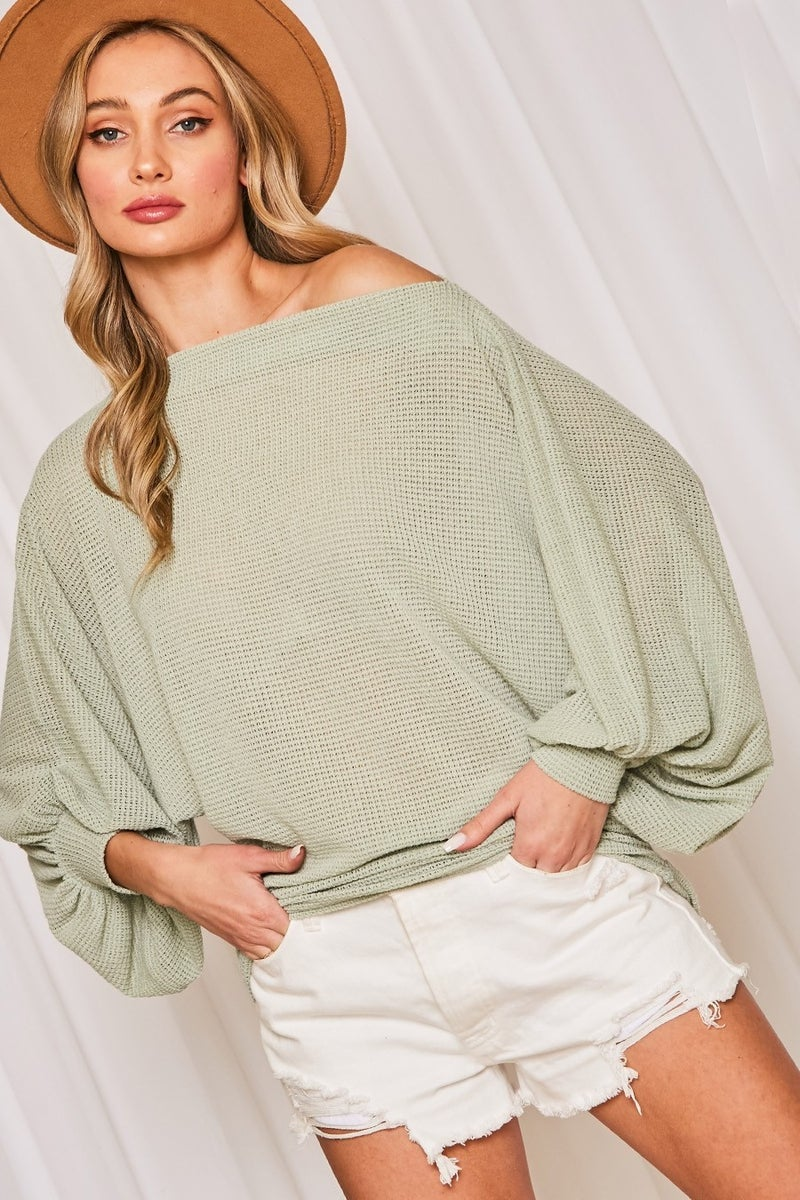 Poppy Knit Top