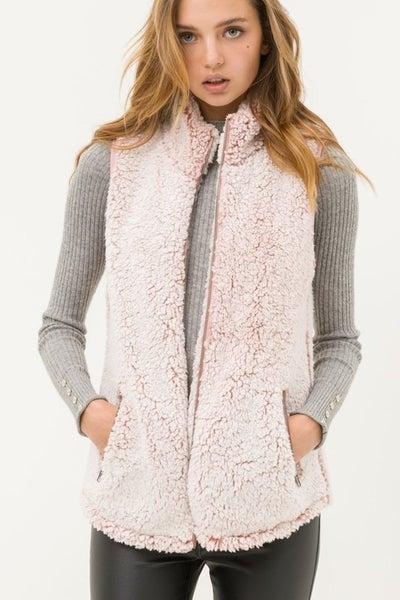 Sherpa Zip Vest *Final Sale*
