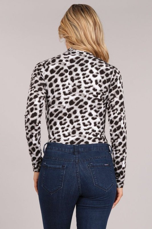 Leopard Bodysuit *Final Sale*