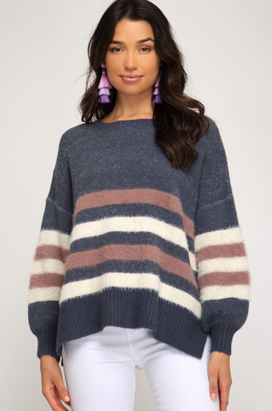 Soft Stripes Sweater