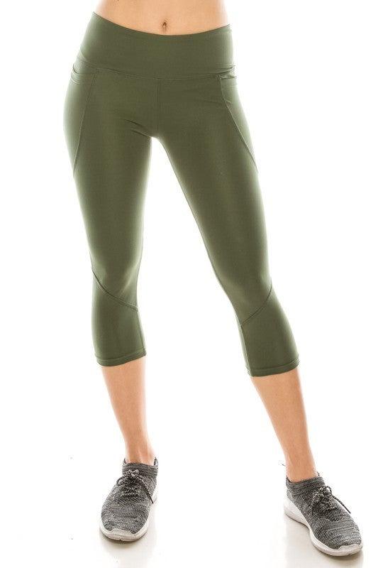 High Performance Capri legging-Midrise *Final Sale*