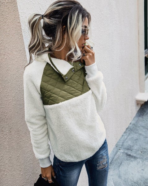 The Comfiest Olive Sweatshirt