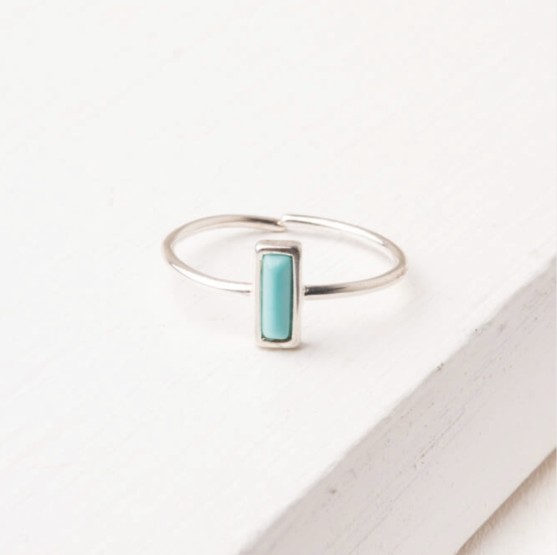 Anna Turquoise Silver Ring